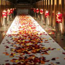 Wedding Silk Rose Petals