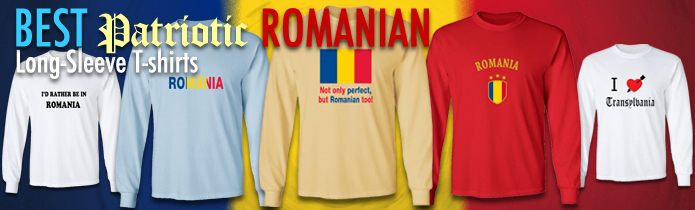 Romanian Long Sleeve T-shirts
