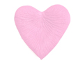 Pink Heart Shaped Silk Rose Petals Wedding 100