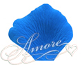 Cobalt Blue Medium Blue Silk Rose Petals Wedding 600
