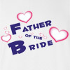 Father of the Bride Wedding T Shirt