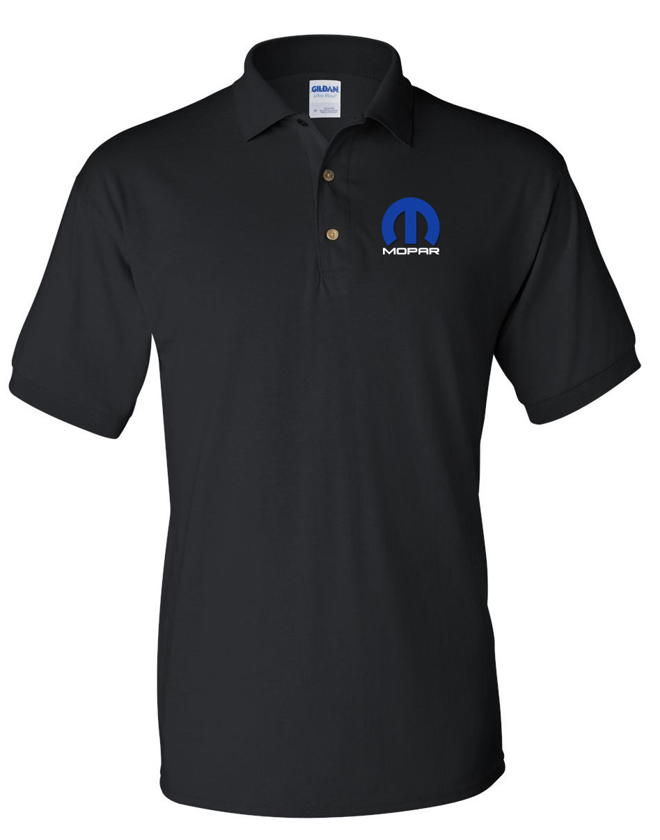 MOPAR Black POLO T-Shirt