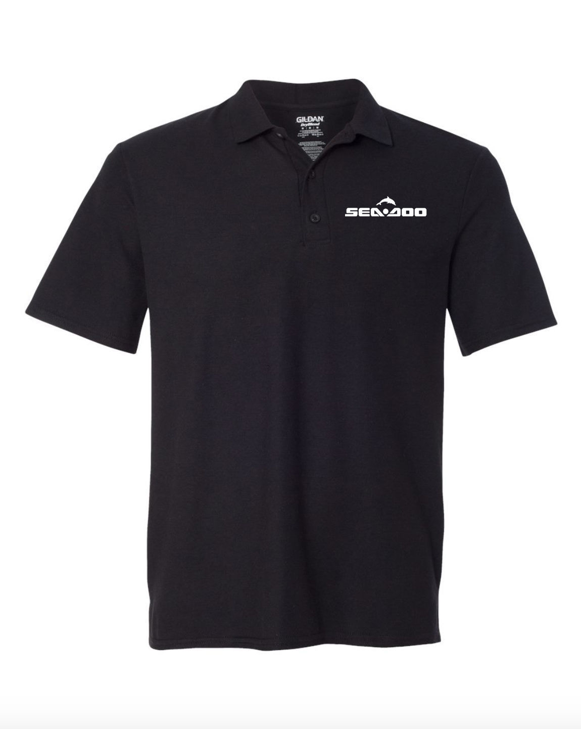 Seadoo Black POLO T-Shirt
