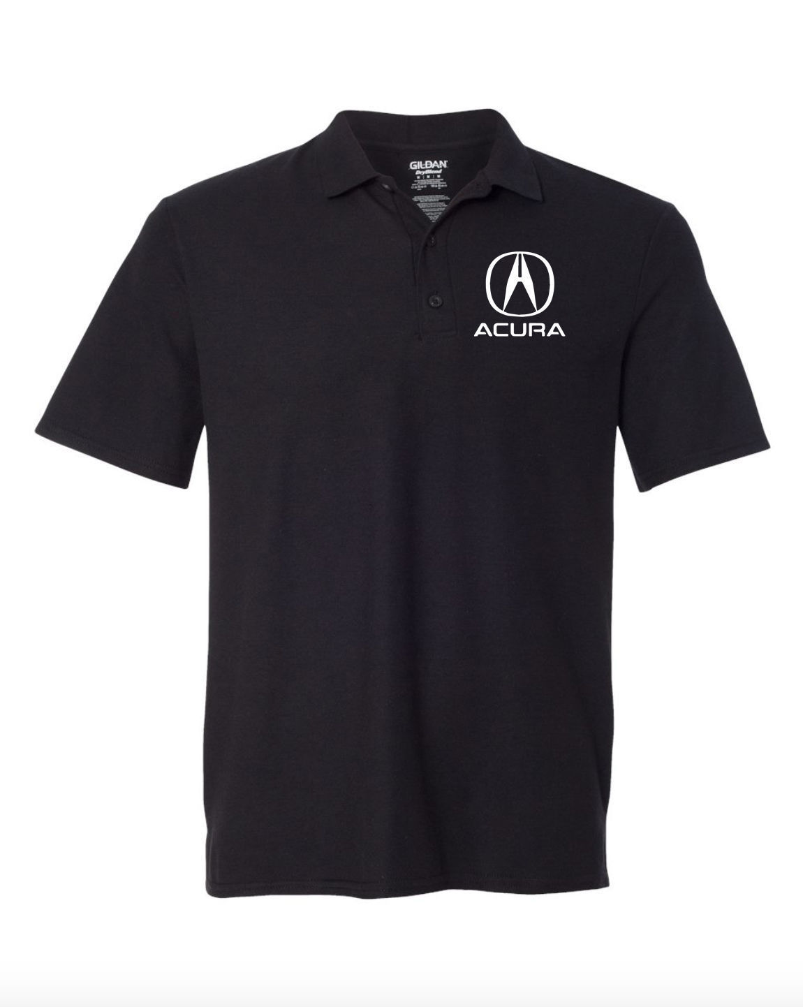 Acura Motor Black POLO T-Shirt