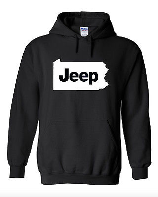 JEEP Pennsylvania State Hooded Sweatshirt
