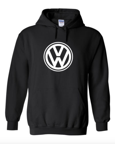 Volkswagen Logo Hooded Sweatshirt