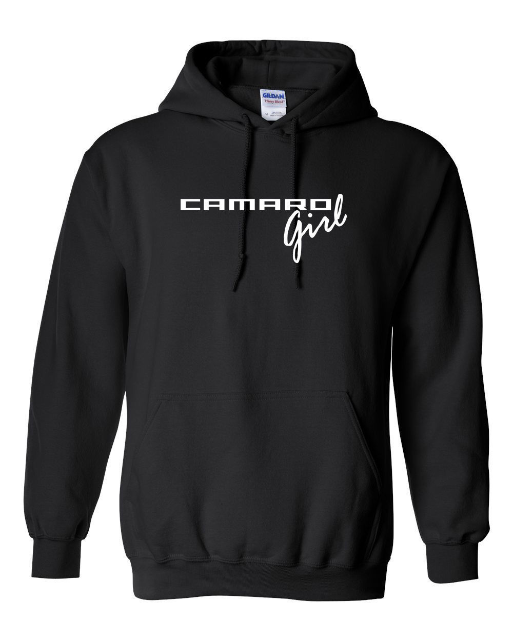 Camaro Girl Hooded Sweatshirt