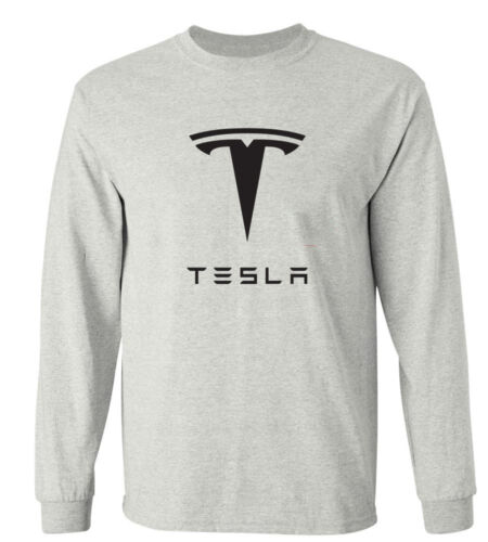 TESLA Electric MOTOR MODEL S Long Sleeve T SHIRT