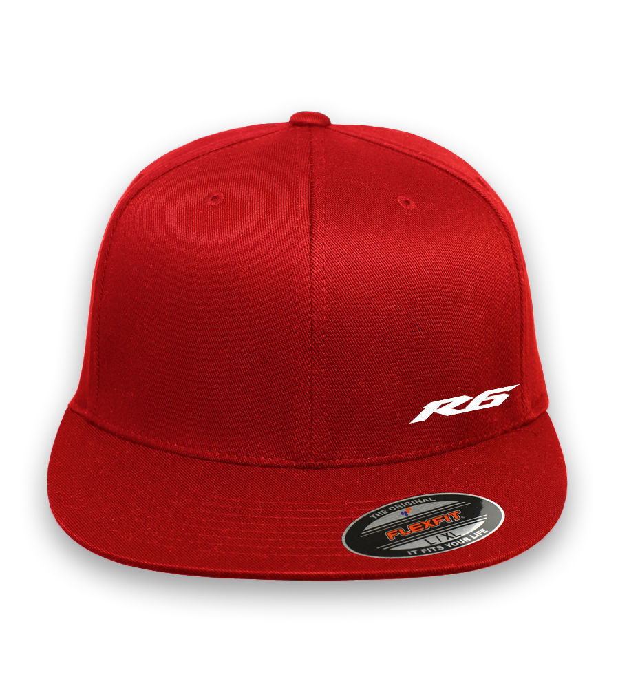cd7c85375bd20 YAMAHA R6 Logo Flex-Fit Style Hat